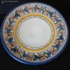 Antigüedades: PLATO CERÁMICA DE TALAVERA. FACTORIA MAVE.. Lote 55362976