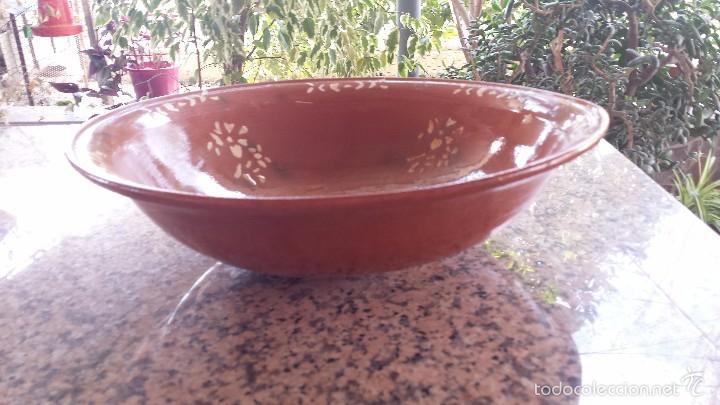 Antigüedades: antigua y gran fuente de la bisbal, preciosa - Foto 2 - 55368541