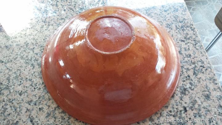 Antigüedades: antigua y gran fuente de la bisbal, preciosa - Foto 4 - 55368541