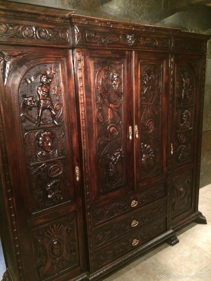 Antiguo armario franc s comprar armarios antiguos en - Armarios antiguos de segunda mano ...