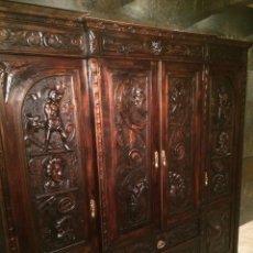 Antigüedades: ANTIGUO ARMARIO FRANCÉS. Lote 55370496