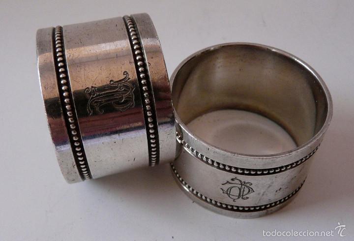 Antigüedades: AROS SERVILLETEROS MENESES SIGLO XIX - Foto 11 - 55371482