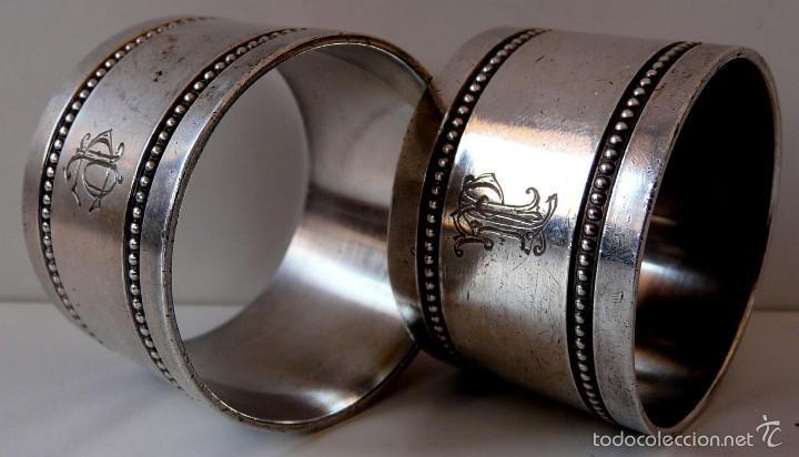 Antigüedades: AROS SERVILLETEROS MENESES SIGLO XIX - Foto 19 - 55371482