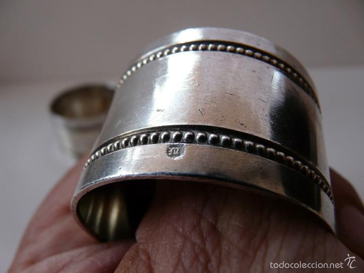 Antigüedades: AROS SERVILLETEROS MENESES SIGLO XIX - Foto 24 - 55371482