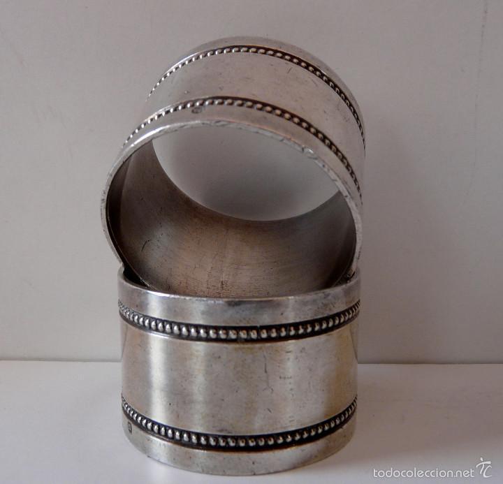Antigüedades: AROS SERVILLETEROS MENESES SIGLO XIX - Foto 25 - 55371482