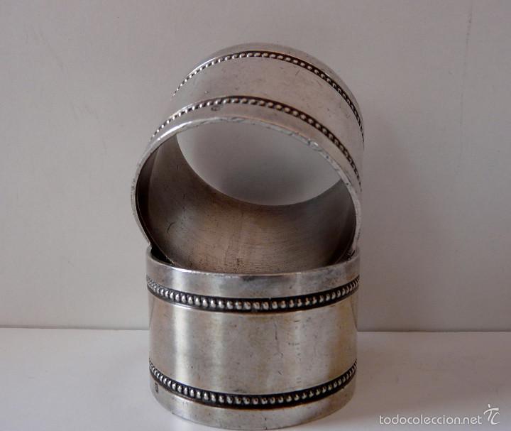 Antigüedades: AROS SERVILLETEROS MENESES SIGLO XIX - Foto 26 - 55371482