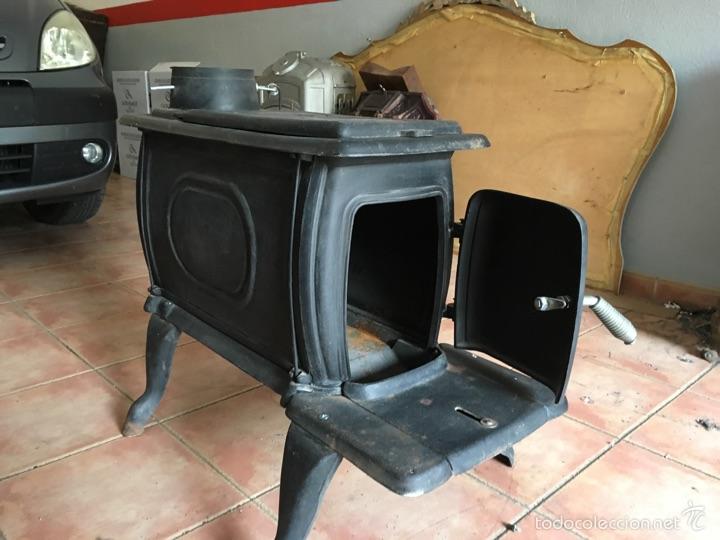 Estufa de le a sin usar comprar utensilios del hogar - Estufa de lena en un piso ...