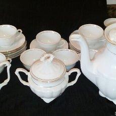 Antigüedades: JUEGO DE CAFE PORCELANA ALEMANA TPM GERMANY. BAVARIA. Lote 55377995