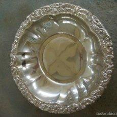 Antigüedades: FUENTE ALPACA PLATEADA. Lote 55381885