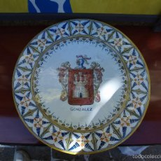 Antiquitäten - PLATO TALAVERA APELLIDO GONZALEZ.41 cm de diametro - 55393967