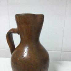 Antigüedades: JARRO PARA VINO DE BARRO. Lote 55394506
