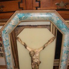 Antigüedades: ANTIGUO CUADRO CON CRISTO. Lote 55417176