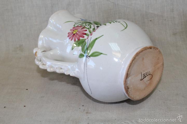 Antigüedades: JARRA DE NOVIA EN CERAMICA LARIO - Foto 2 - 55496258