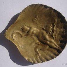 Antigüedades: CENICERO MODERNISTA. Lote 55555533