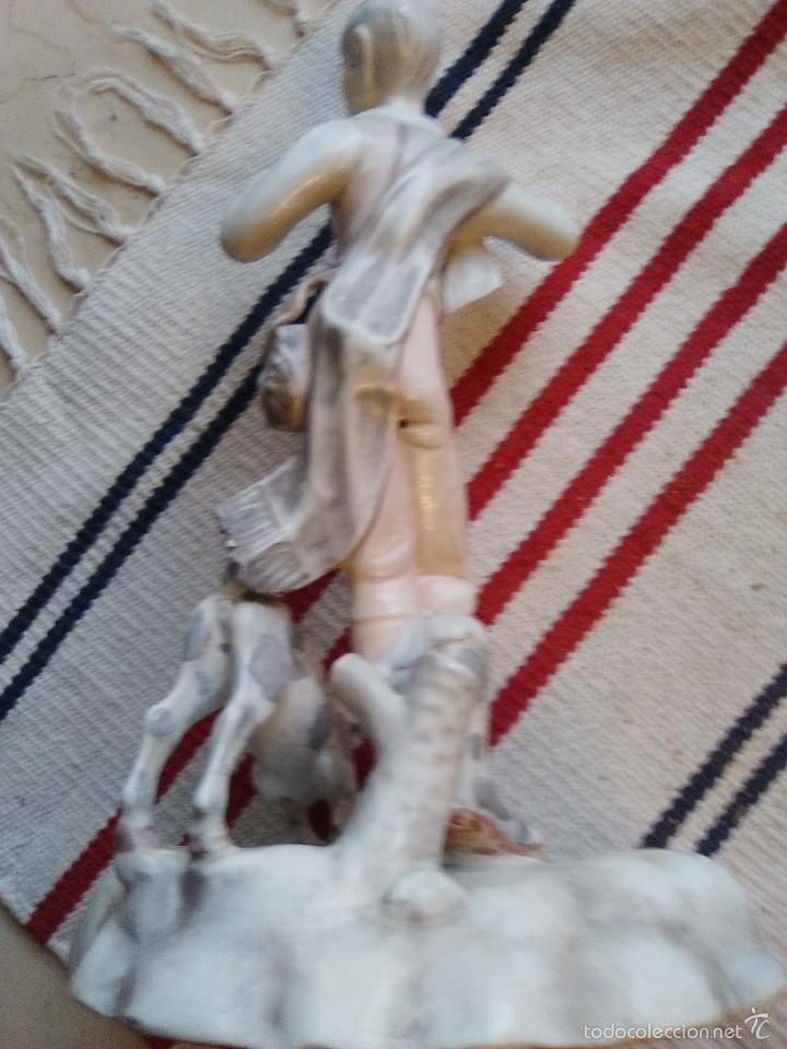 Antigüedades: FIGURA PORCELANA MARCA FRANJU MADE IN SPAIN - Foto 6 - 55559170