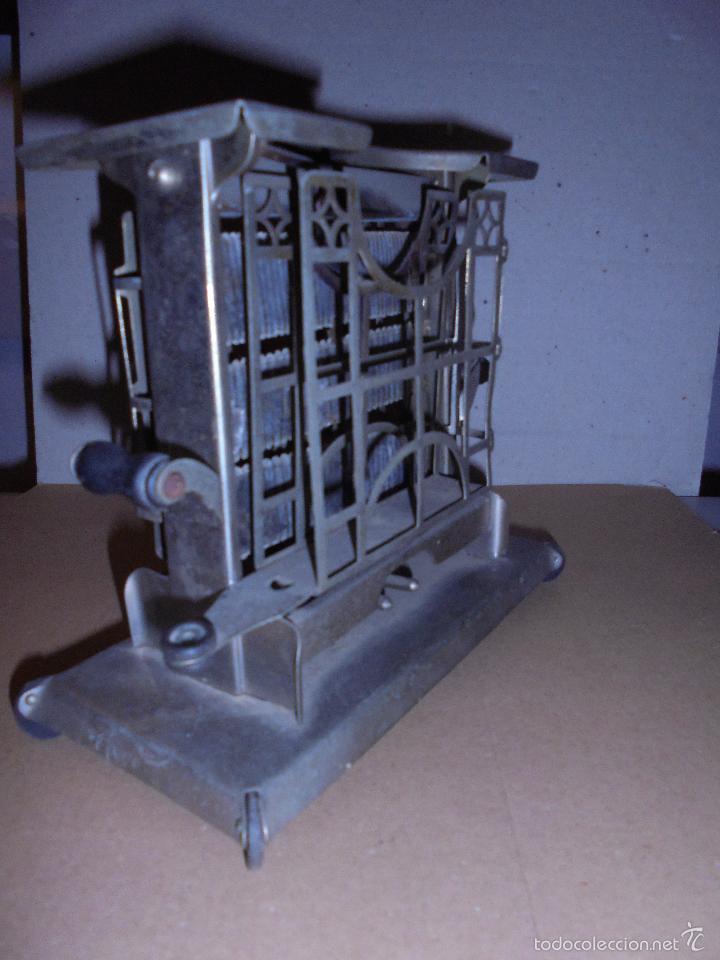Antigüedades: (M) ANTIGUA TOSTADORA ELECTRICA - AÑOS 20/30 - TODO UN INGENIO INDUSTRIAL . 19,5 X10 CM. 17 CM. DE - Foto 3 - 55568803