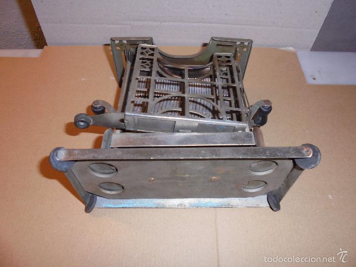 Antigüedades: (M) ANTIGUA TOSTADORA ELECTRICA - AÑOS 20/30 - TODO UN INGENIO INDUSTRIAL . 19,5 X10 CM. 17 CM. DE - Foto 6 - 55568803