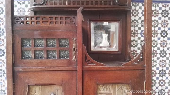 Antigüedades: mueble modernista catalan - Foto 4 - 55573197