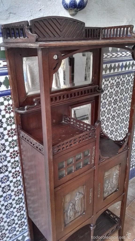 Antigüedades: mueble modernista catalan - Foto 6 - 55573197