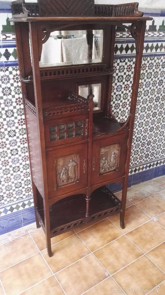 Antigüedades: mueble modernista catalan - Foto 10 - 55573197