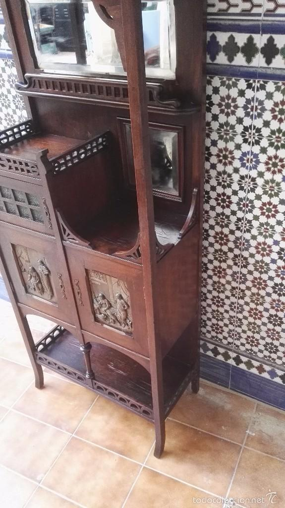 Antigüedades: mueble modernista catalan - Foto 11 - 55573197