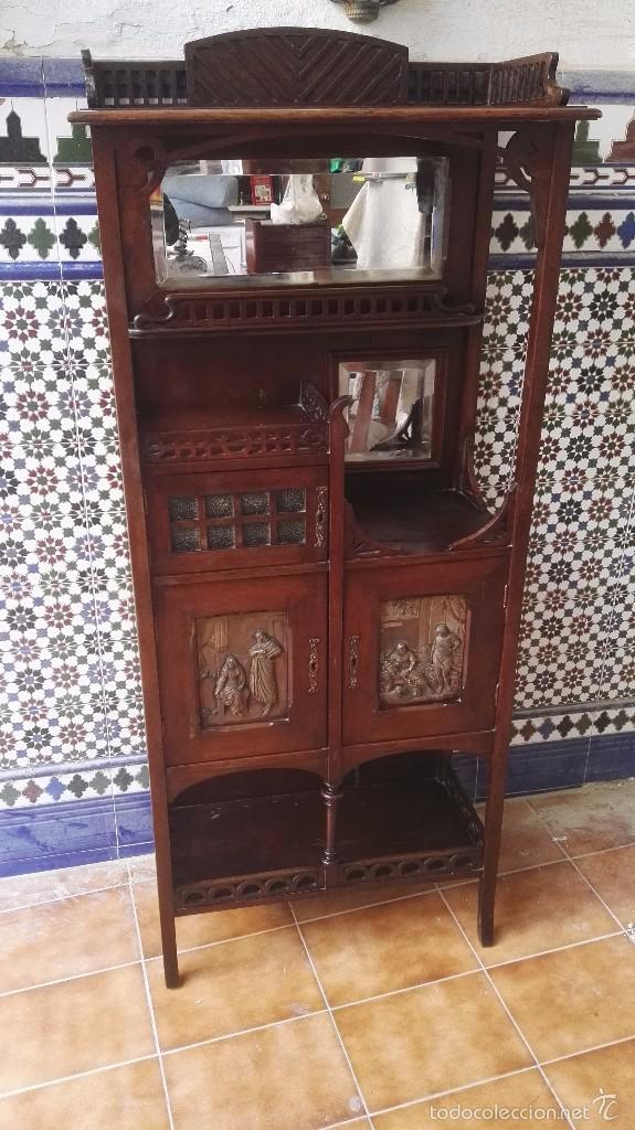 Antigüedades: mueble modernista catalan - Foto 13 - 55573197