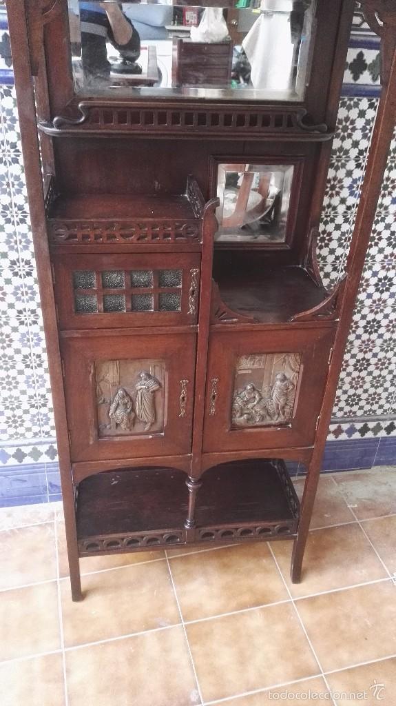 Antigüedades: mueble modernista catalan - Foto 17 - 55573197