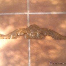 Antigüedades: REMATE DE MADERA PARA DECORAR. BONITA TALLA.. Lote 55588543