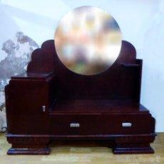 Antigüedades: PRECIOSO MUEBLE RECIBIDOR/TOCADOR ART DECO. Lote 55645001