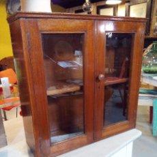 Antigüedades: VITRINA INGLESA. CAOBA. Lote 115395788