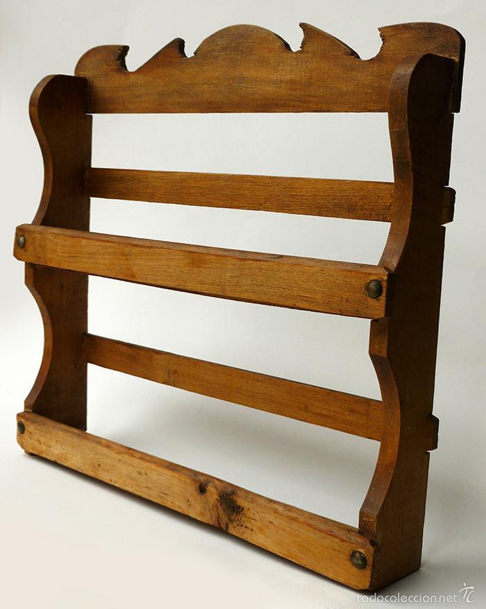 Antiguo mueble estante especiero de cocina para comprar for Herrajes muebles antiguos