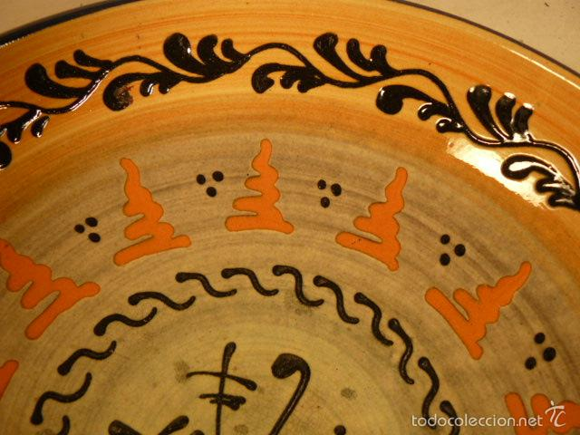 Antigüedades: PLATO DE CERAMICA PUIGDEMONT LA BISBAL - Foto 3 - 55700317