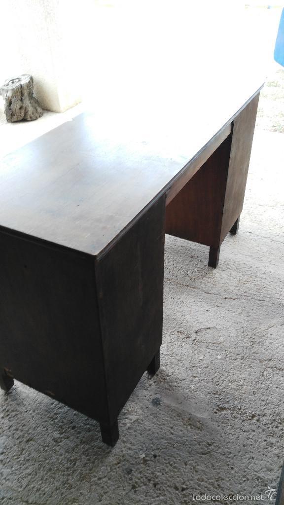 Antigua mesa de despacho escritorio comprar mesas de - Mesas de escritorio antiguas ...