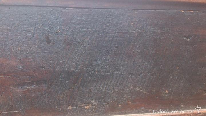 Antigüedades: ANTIGUO BAUL CON CERRADURA Y LLAVE FUNCIONANDO, SIGLO XVIII - XIX . - Foto 18 - 55788518