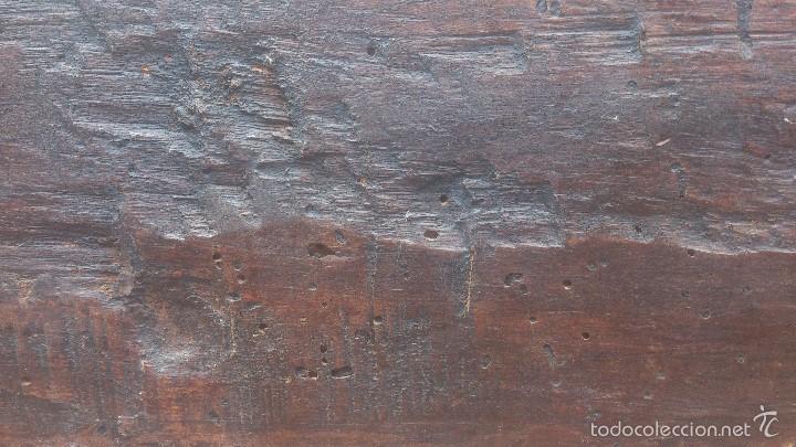 Antigüedades: ANTIGUO BAUL CON CERRADURA Y LLAVE FUNCIONANDO, SIGLO XVIII - XIX . - Foto 19 - 55788518