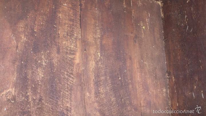 Antigüedades: ANTIGUO BAUL CON CERRADURA Y LLAVE FUNCIONANDO, SIGLO XVIII - XIX . - Foto 31 - 55788518