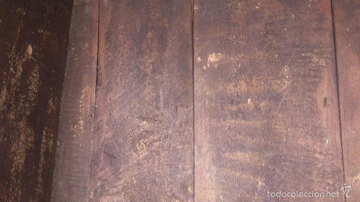 Antigüedades: ANTIGUO BAUL CON CERRADURA Y LLAVE FUNCIONANDO, SIGLO XVIII - XIX . - Foto 32 - 55788518