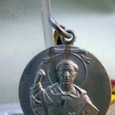 Antigüedades: ANTIGUA MEDALLA RELIGIOSA, ASOCIACION SAN VICENTE FERRER, ALTAR DE RUZAFA, CON CINTA. Lote 55819160
