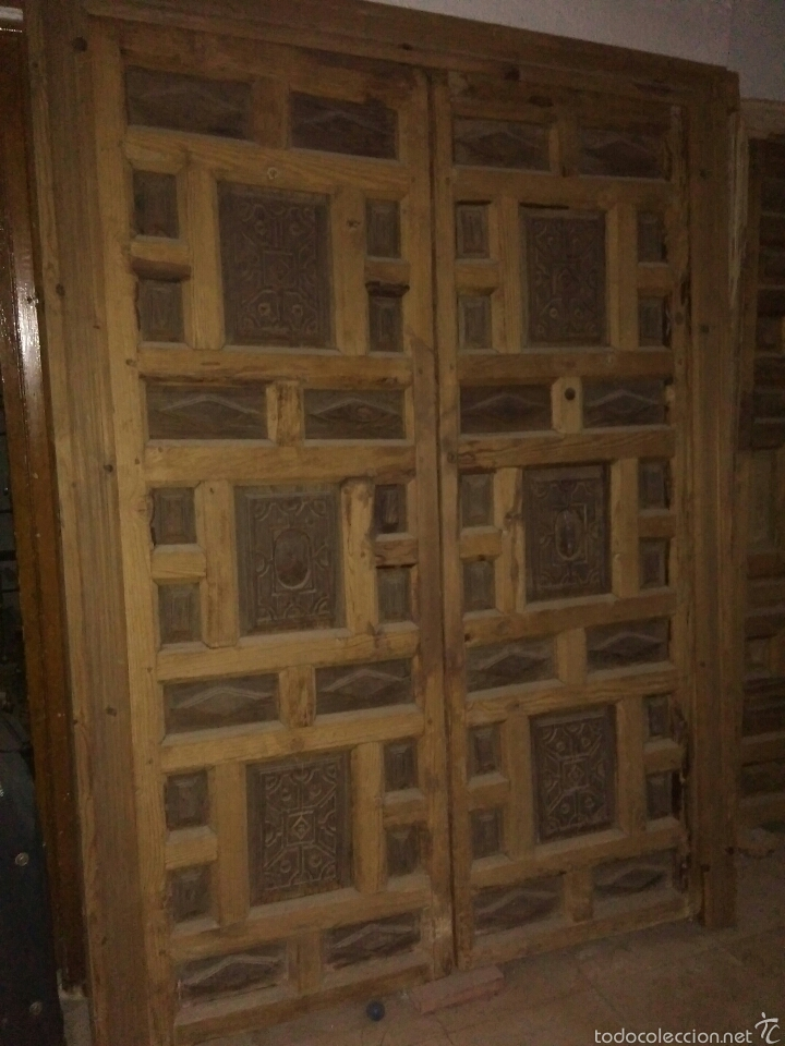 PUERTA (Antigüedades - Muebles Antiguos - Bargueños Antiguos)