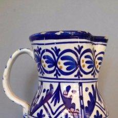 Antigüedades: GRAN JARRA DE TALAVERA O MANISES. Lote 55826755
