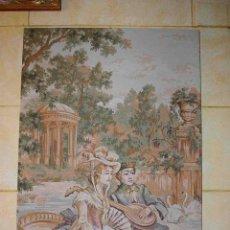 Antigüedades: TAPIZ DE ÉPOCA ESPAÑOL GRANDE. Lote 55841319