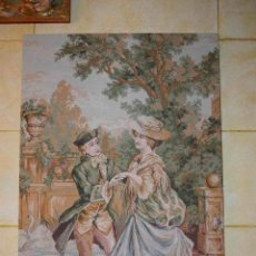 Antigüedades: TAPIZ DE ÉPOCA ESPAÑOL GRANDE. Lote 55842750