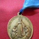 Antigüedades: MEDALLA RELIGIOSA HIJAS DE LA INMACULADA CONCEPCION. Lote 55861373