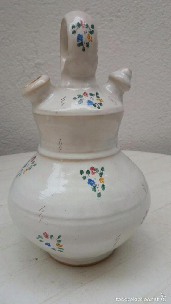 CANTIR - BOTIJO DE 26'5 CMS. ALTO (Antigüedades - Porcelanas y Cerámicas - Otras)