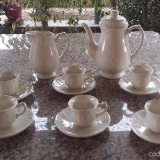 Antigüedades: PRECISO JUEGO DE CAFE SAN CLAUDIO, A ESTRENAR. Lote 55861849