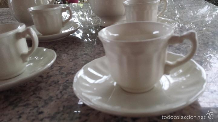 Antigüedades: preciso juego de cafe san claudio, a estrenar - Foto 3 - 55861849