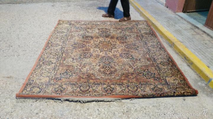 Magnifica antigua alfombra hecha a mano 2x1 5 comprar for Antigua alfombras