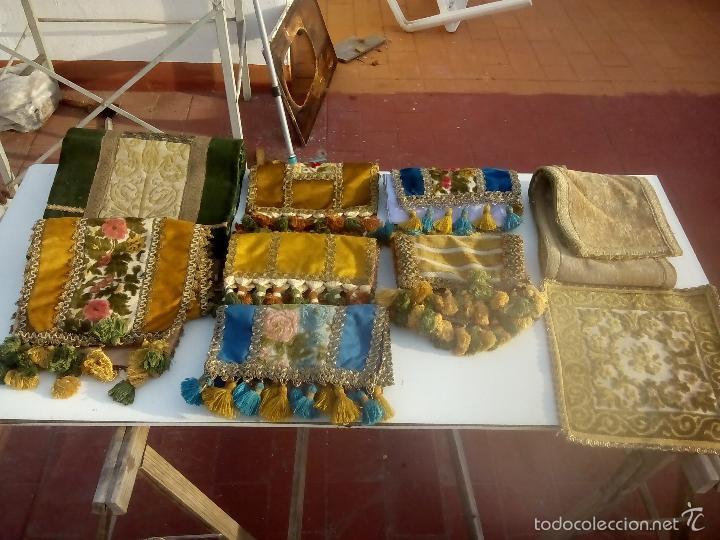 LOTE. CAMINO DE MESA (Antigüedades - Hogar y Decoración - Tapetes Antiguos)