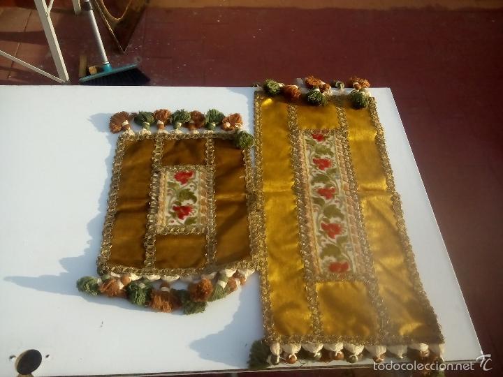 Antigüedades: lote. camino de mesa - Foto 2 - 93164312