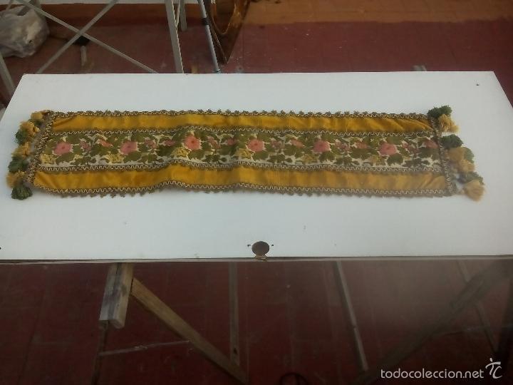 Antigüedades: lote. camino de mesa - Foto 7 - 93164312